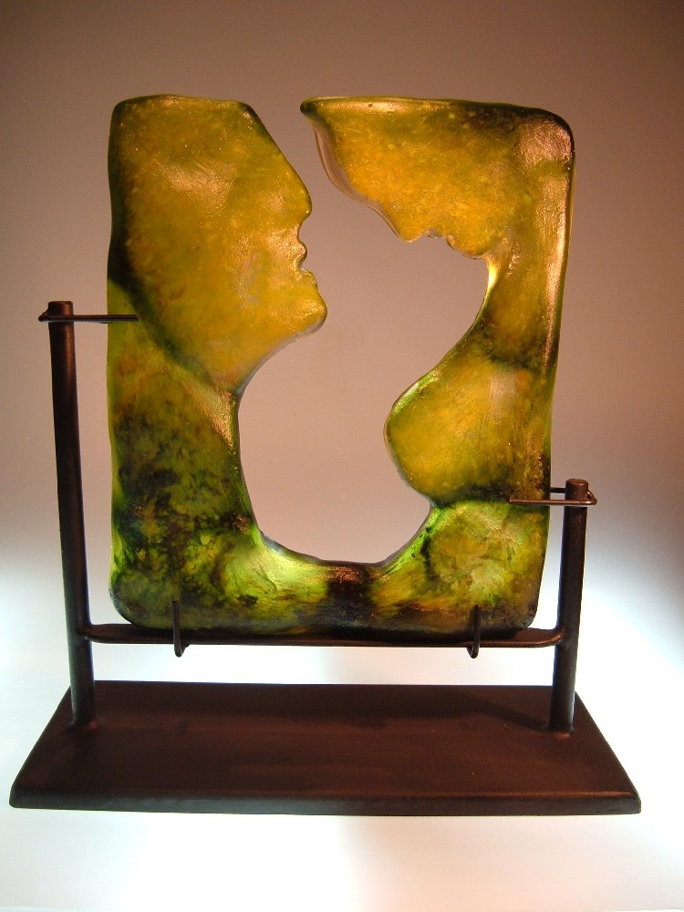 glass sculpture - tenderness